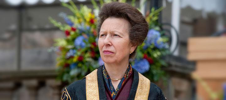 Photo of the University Chancellor, Her Royal Highness, The Princess Royal